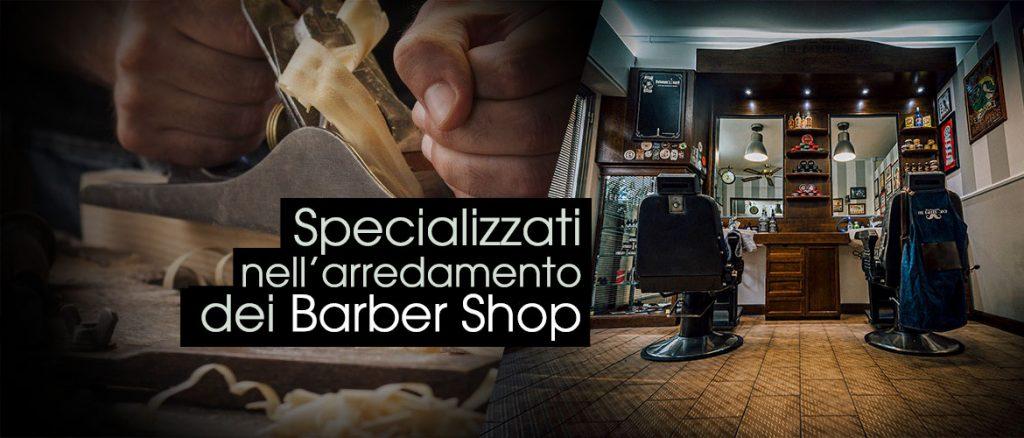 Wood design arredamento per barber shop for Arredamento barber shop