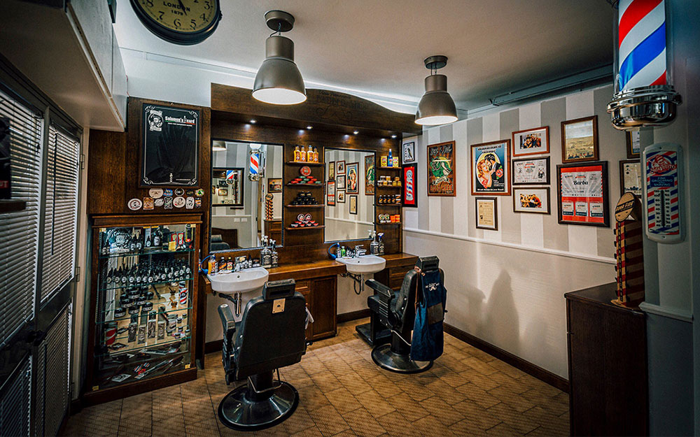 Wood design arredamento per barber shop for Sito arredamento design