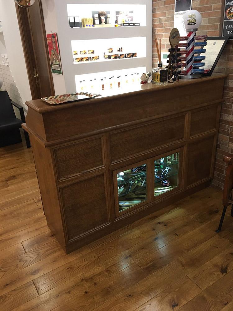 Eccezionale Arredamento per Barber Shop | Wood Design YO78