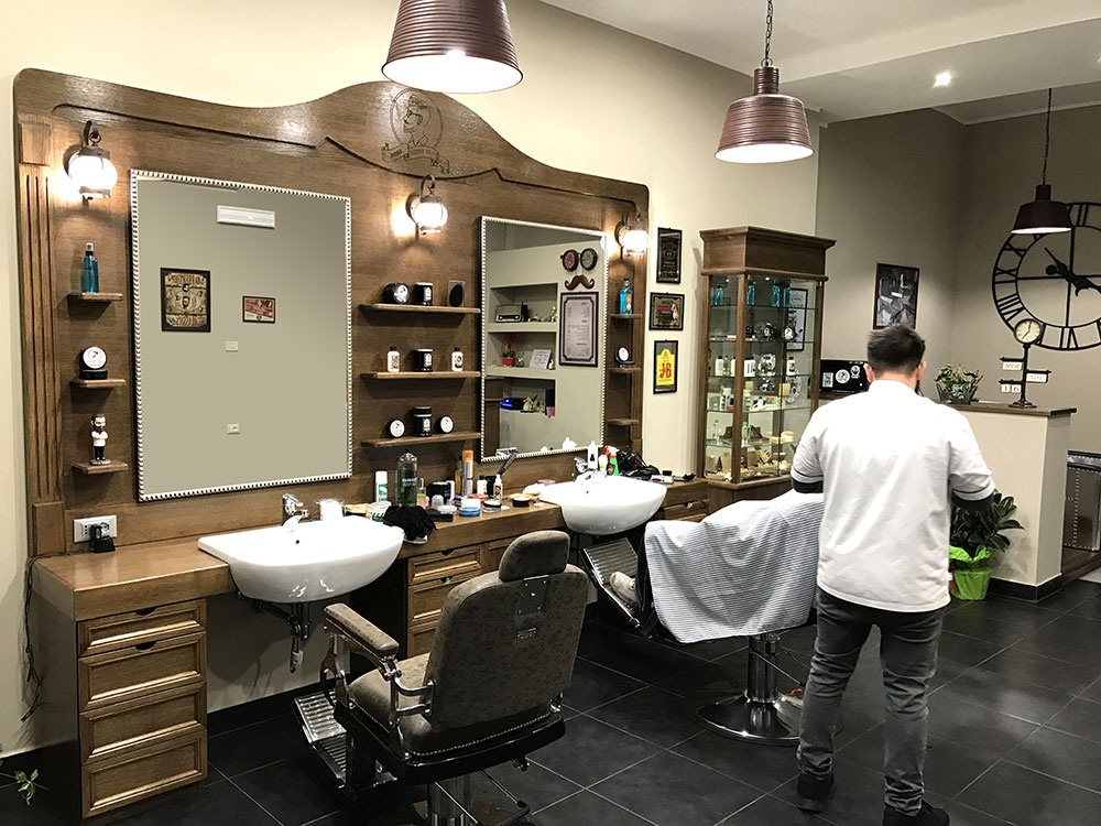 barber shop arredamento pg84 regardsdefemmes