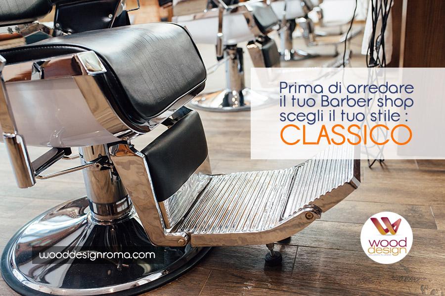 Barber shop stile classico