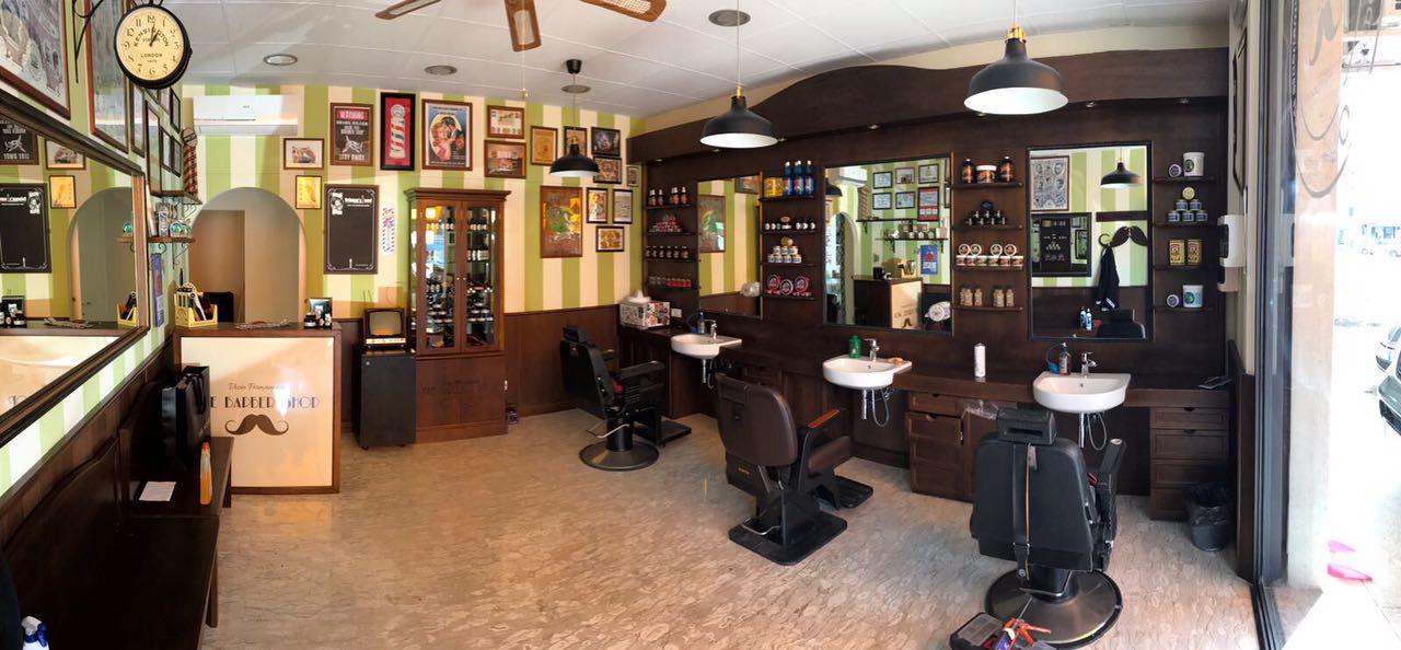 arredo barber shop stile moderno